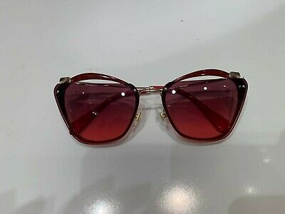 Miu Miu Sunglasses MU54TS Red