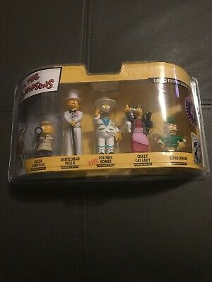 the simpsons limited edition figurine collection 4 rare colonel homer