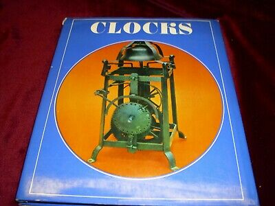Clocks by Simon Fleet Hardcover Book ca. 1972 with 136 Illustrations 96 pages