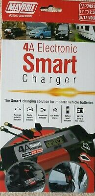 Maypole MP7423 4a Electronic Smart Battery Charger