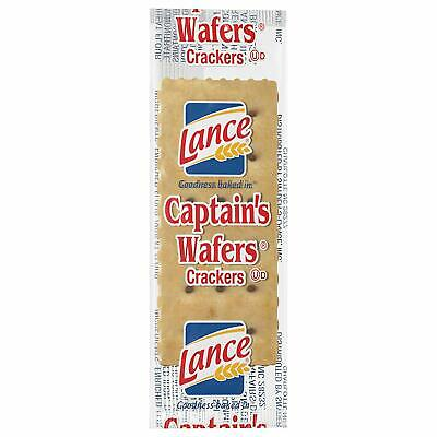 Lance Captain's Wafer Crackers, 500 Count