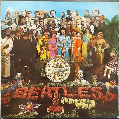 The Beatles ‎– Sgt. Pepper's Lonely Hearts Club – UK 1970 Stereo Vinyl LP- VG+