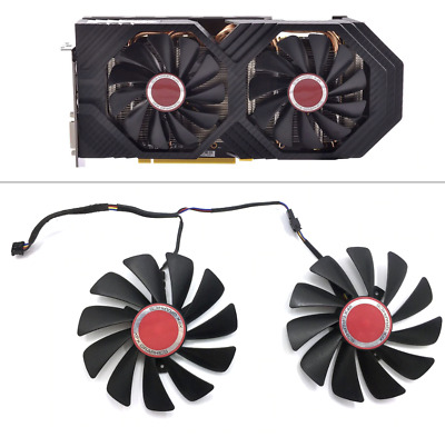 SET 95mm FDC10U12S9-C CF1010U12S GPU Fan For XFX AMD Radeon RX 580 590 RX580 RX