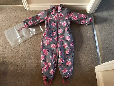 Joules Girls Cosy Floral Snowsuit, Age 5 - Brand New With Tag