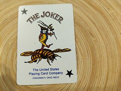 Vintage Golden Nugget Hotel and Casino Downtown Vegas Playing Card Joker