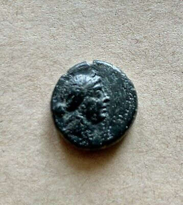 Bronze hellenistic coin from Lydia, Thyateira (Asia Minor), ca 200-100 BC. Rare!