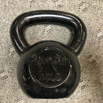 Yes4All 35 lb Kettlebell Weights for Body Workout - Cast Iron Kettlebell