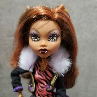 Monster High Doll Mint Condition Second Wave Original Favorites Clawdeen Wolf