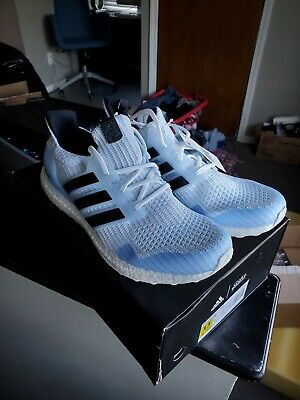 Adidas Ultra Boost X Game of Thrones 'White Walker' Size 13