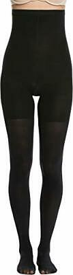 Spanx Women's High-Waisted tight-end tights B Very Black