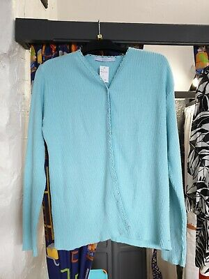 Blue Aqu Maternity Cardigan Size 10, soft material,comfortable, warm (08160339)