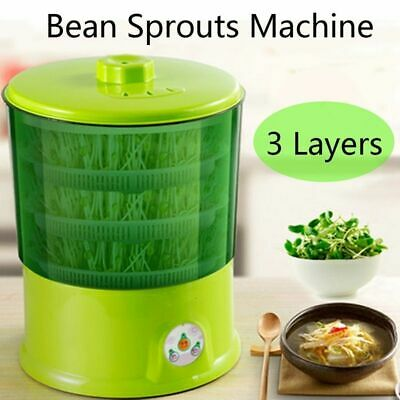 Bean Sprouts Machine Automatic Multifunctional Homemade Sprout Double Layer