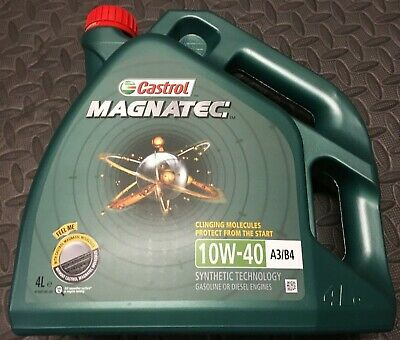 Castrol Magnatec 10W 40 Car Engine Oil Diesel Petrol LOCAL PICK UP ONLY
