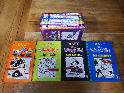 Diary of a Wimpy Kid Collection x 10 Books  Set by Jeff Kinney