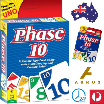 PHASE 10 Brand New CARD GAME Phase 10 Card Game NEW FO