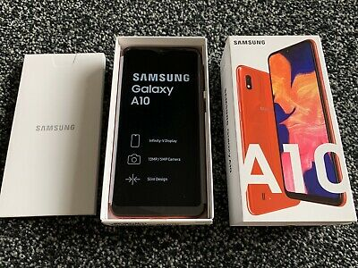 Brand New Samsung Galaxy A10 Mobile Phone Red (32GB) Unlocked, Boxed
