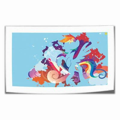 """16""""x30""""My Little Pony HD Canvas prints Painting Home decor Picture Room Wall art"""