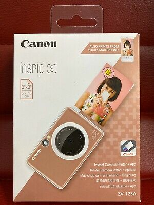 Canon Inspic S Bluetooth Instant Camera