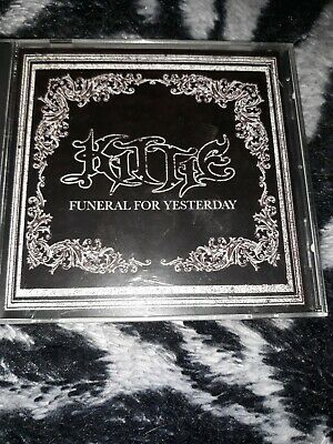Kittie Funeral For Yesterday cd, preowned