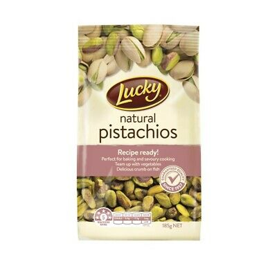 Lucky Natural Pistachio Nuts 185g