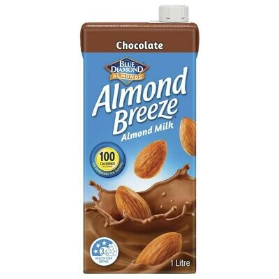 Blue Diamond Almond Breeze Chocolate Flavoured Almond Milk 1L