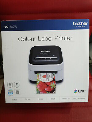 Brother Colour Label Printer VC-500W