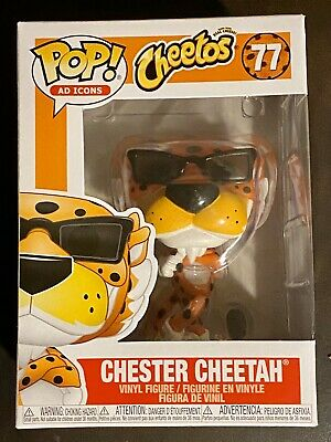 Funko Pop! Vinyl Ad Icons Cheetos - Chester Cheetah #77 2019