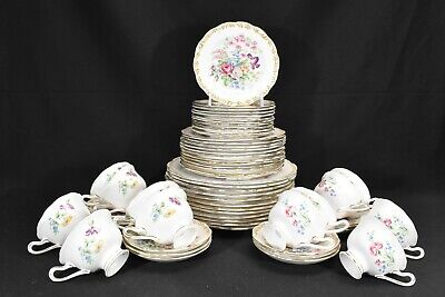 Royal Albert Nosegay Set of 12 Five Piece Place Settings (60 Pieces Total)