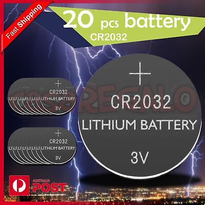 20X New Cr2032 3V Lithium Cell Battery 5004Lc 2032 Br2032 Button Batteries Oz