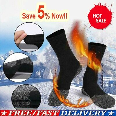 1 Pair 35 Below Winter Warm Socks Aluminised Fibers Thermal Long Sock Women Man