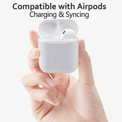 Apple AirPods Charging Case for 1st 2nd Generation Replacement with Sync Button