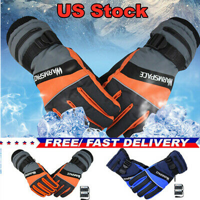 5V Unisex Winter USB Heated Gloves Thermal Hand Warmer Mitten Electric Heating