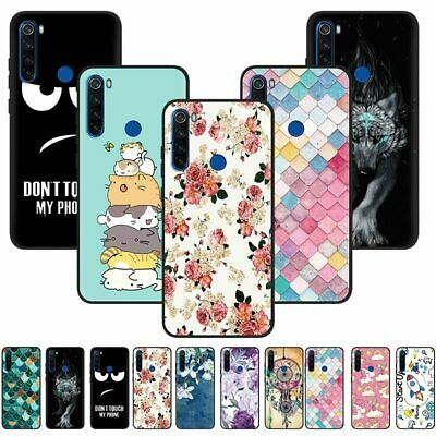 For Xiaomi Redmi 8 8A Note 8T Slim Painted Soft Silicone TPU Matte Case Cover