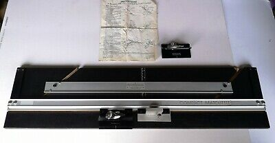 Logan compact mat cutter, three cutters and instructions