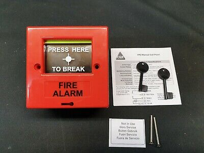 CQR Security PSAABG02 FP2 Manual Fire call point