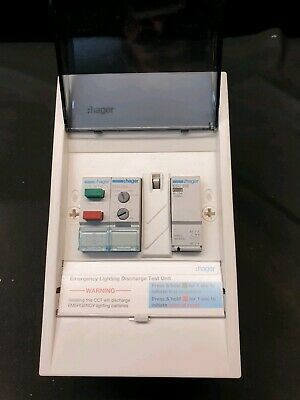 Hager EMERG2W Emergency Light Discharge Package 2