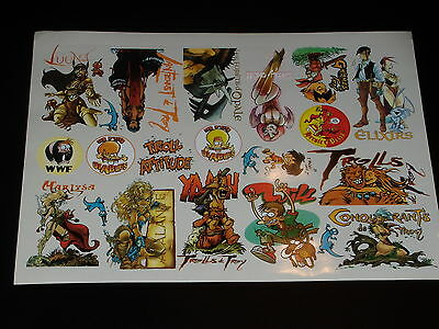 Editions Sun - Board of Stickers - Lantfeust of Troy
