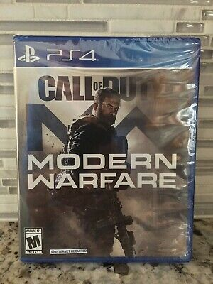 Call of Duty Modern Warfare Playstation 4 PS4 Brand New