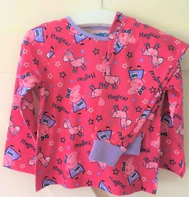 New Nutmeg Girls Peppa Pig Pyjama Set 2 Pc Long Sleeved - Exstore - 2-4Y