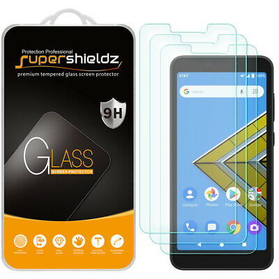 [3X] Supershieldz Tempered Glass Screen Protector for AT&T Radiant Core