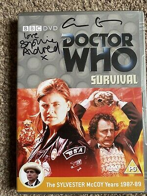 Signed Photo Survival KATE EATON Doctor Who Autograph