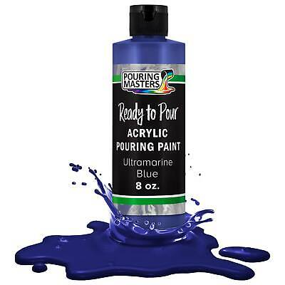 Pouring Masters Ultramarine Blue 8ozBottle Water-Based Acrylic Pouring Paint