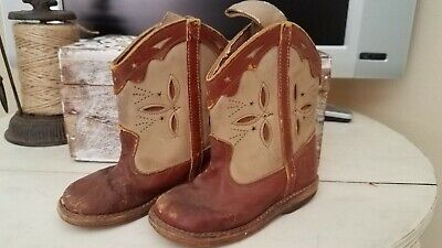 Vintage Child's Cowboy Boots 1950's Prop Collectible