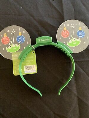 Disney Parks Toy Story Glow Ears Mouse Ears Lightup Headband Hat Holiday Xmas