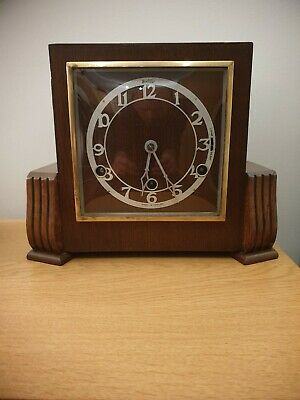 Vintage Bentima three train Westminster Chimes Mantel clock