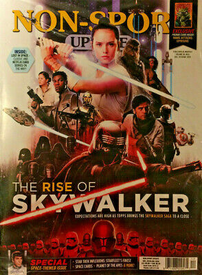 New Dec/Jan 2020 Beckett Non Sport Update Price Guide Magazine Rise Of Skywalker