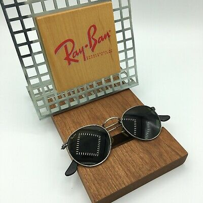 Vintage Ray Ban John Lennon Style W1576 Antique Bronze Classic Metals B&L