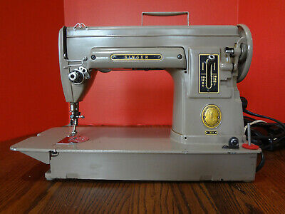 Vintage SINGER SEWING MACHINE Model 301 Tan Services VGC NA026034 ~FAST S/H~