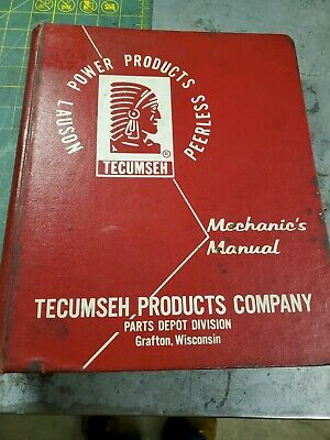 Tecumseh Mechanics Manual