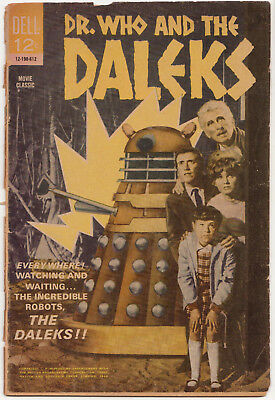 Mega-rare: Dell [Doctor] Dr Who and the Daleks comic, US, 1966. %toCharityDo!
